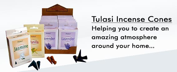 Tulasi Incense Cones
